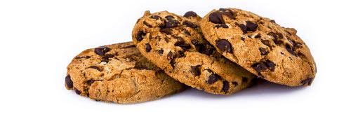 Afbeelding van een paar koekjes