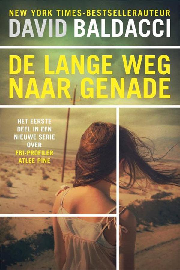 Boekomslag van De lange weg naar genade, geschreven door David Baldacci.