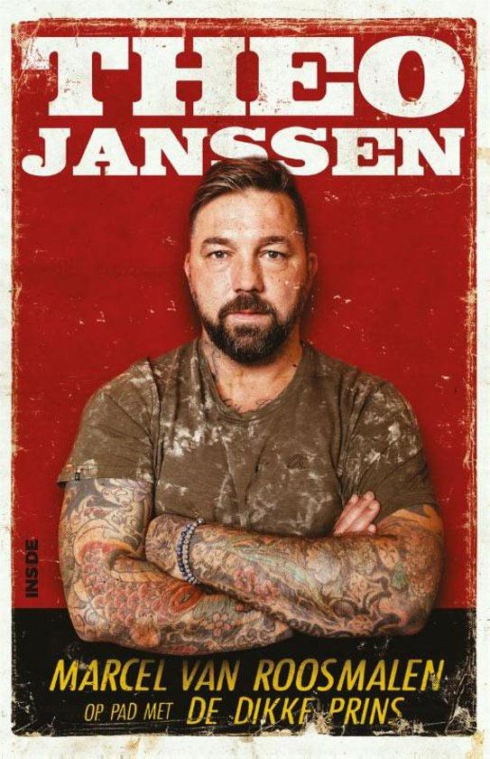 Boekomslag van Theo Janssen. Op pad met De Dikke Prins