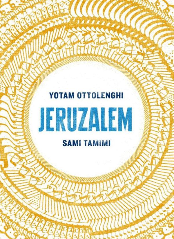 Omslag van Jeruzalem van Yotam Ottolenghi en Sami Tamimi